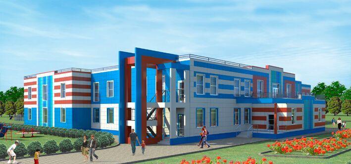 Детский сад на 180 мест http://arch-proekt.ru/obshhestvennye-zdanija