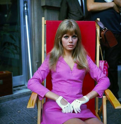 Britt Ekland photographed by Giancarlo Botti