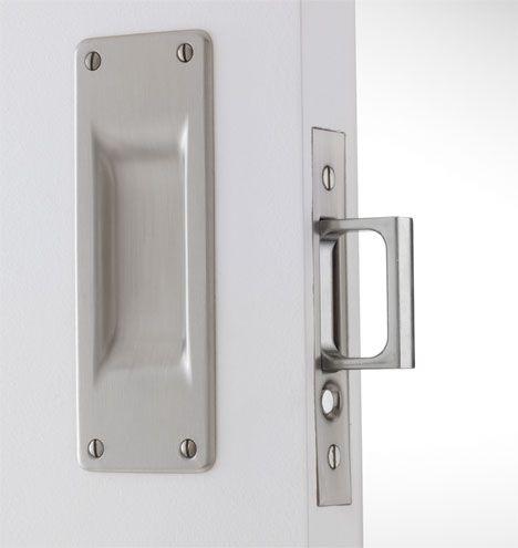 Benson Pocket Door Set: for sliding door to private toilet room