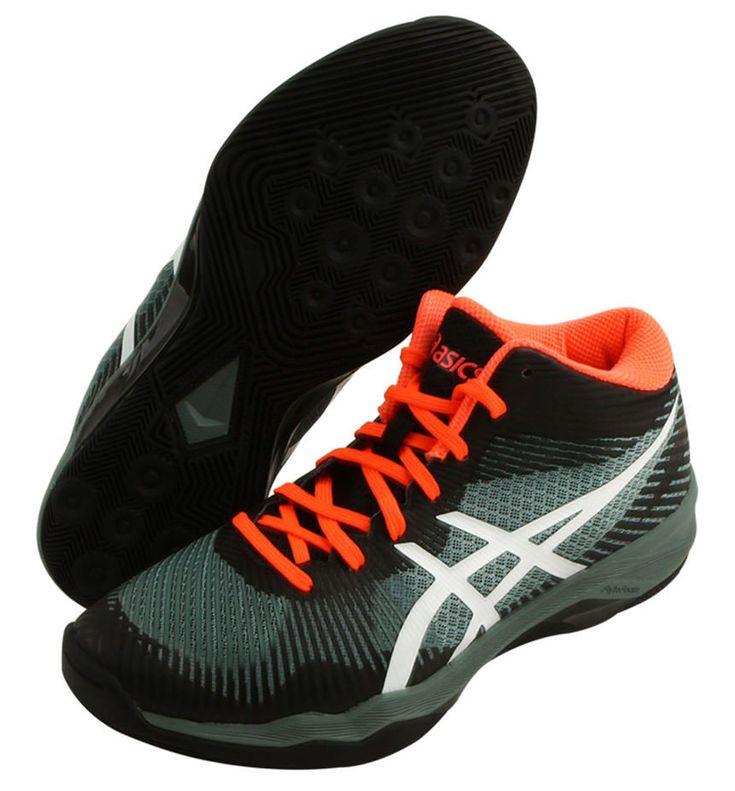 ASICS Volley Elite FF MT Men's Volleyball Shoes Badminton Khaki NWT  B700N-1001