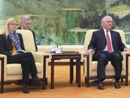Has Sec State Tillerson stepped back and allowed subordinates to fill top positions with anti Trumpers