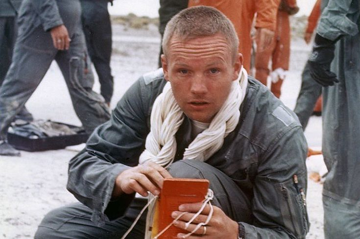 Neil Armstrong - desert survival training