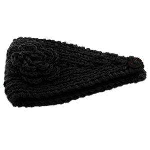 Malloom® Tricotage Crochet Fleurs De Camélias De Cheveux Cerceau Bandeau Serre-Tête (Noir): Tweet Contenu du coffret: 1PC tricot crochet…