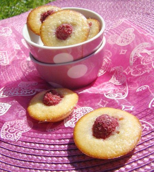 ♥ Petits gâteaux aux framboises, extra légers ♥ - Les petites gourmandises de July