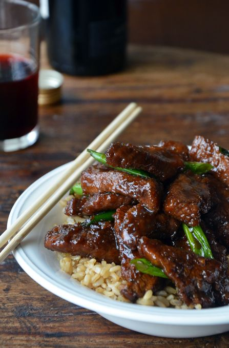30-Minute Mongolian Beef I, Becky, made this for dinner tonight over white rice and it was AMAZING. And you know I only make what's easy.