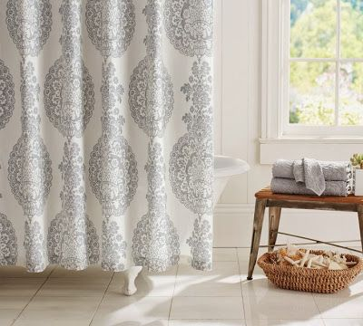 Decor Look Alikes | Pottery Barn Lucianna Shower Curtain $59 Vs $29.99 @  Target