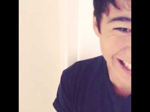 Calum Hood Laughs At Luke Hemmings Singing In The Shower!!!;))xxx this is SOO funny I laugh so hard no matter how many times I watch it