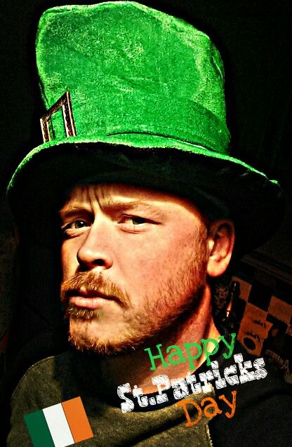 Happy St.Patricks day from your No.1 ginger guy!!
