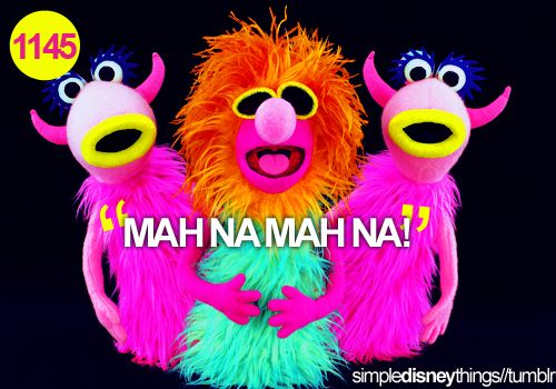 """""""Mah Na Mah Na"""" :D (admit it, you just started singing the song)"""