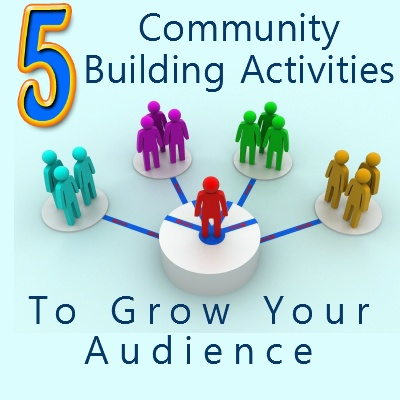 5 Community building activities to grow your audience http://www.mylocalbusinessonline.co.uk/5-grow-your-audience/