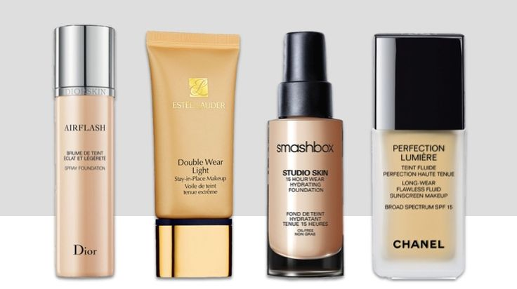8 Waterproof Foundations That Can Take The Summer Heat | Don't sweat it!  The mercury may be rising, but your makeup doesn't have to melt down.  While we're all for a lighter hand- especially during the summer months, but sometimes we still need a foundation that will stand up to the heat...
