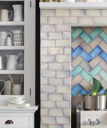 shibori cream tile