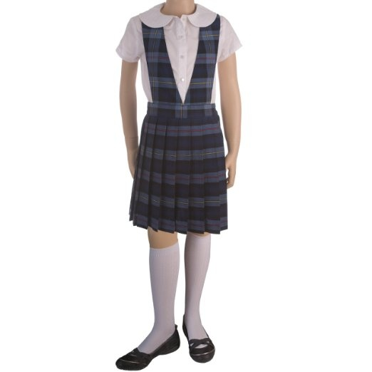 The uniform I wore everyday at St. Peter Claver Catholic School.