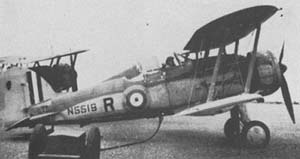 """Gloster Gladiator """"Charity"""" refuelling."""