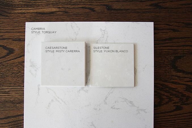 Caesarstone Misty Carerra Vs Silestone Yukon Blanco Cambria Torquay Kitchen Remodel In 2018 Pinterest Countertops And House