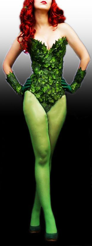 Lovely super villain cosplay costume with accessories. Ivy has proven to be one…