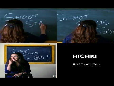 Rani Mukerji Starts Shooting For Hichki Video Posted on Social Media