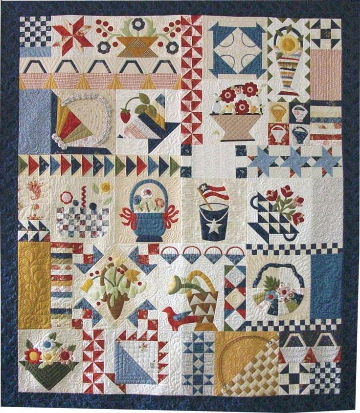 999 best Quilts...Baskets images on Pinterest | Embroidery, DIY ... : basket quilt - Adamdwight.com