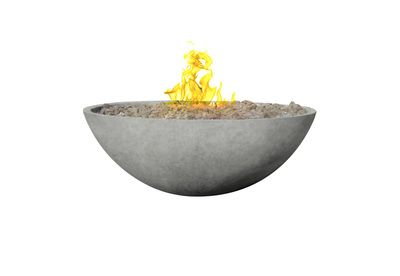 Zen. Relax around this minimalistic firebowl. This fire pit is the perfect addition to modern landscapes.  Side or bottom gas line access holes available.  ​Available in any of our 8 standard...