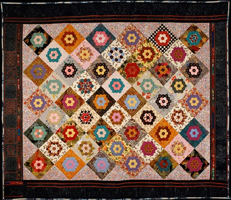 449 Best Hexie Love Images On Pinterest Hexagon Quilt