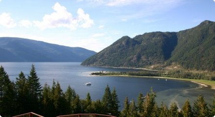 Our beautiful lake! Oh how we are blessed to live and work in the Shuswap!