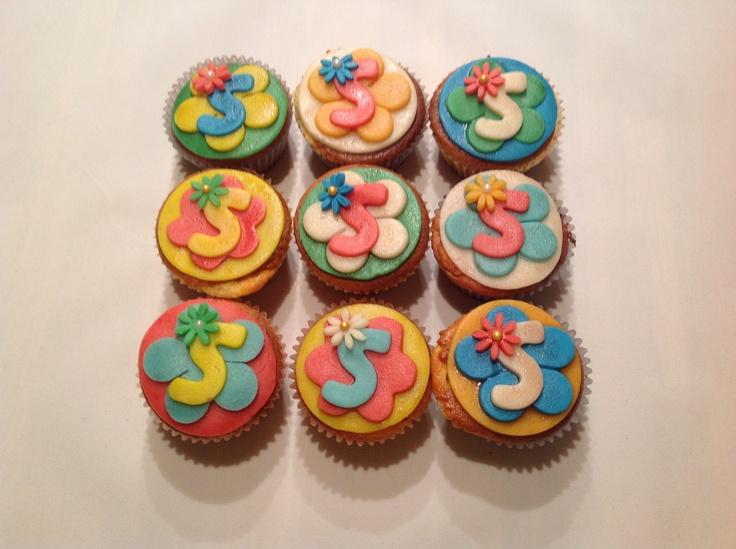 Cupcake's voor een  meisje van 5 jaar