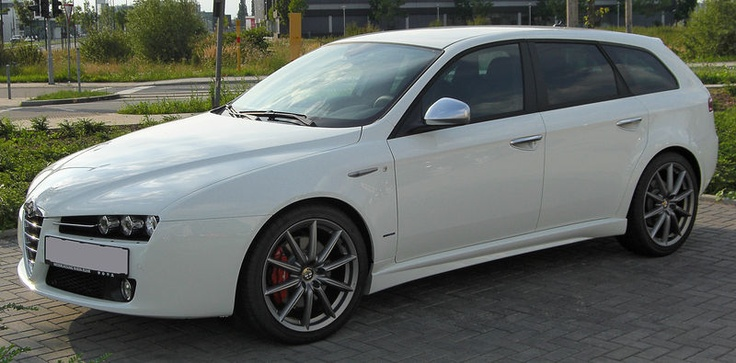 Alfa Romeo 159 Sportwagon.  If I lived in Europe, this would be my family car.