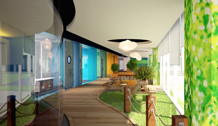 HSL Office 3D design