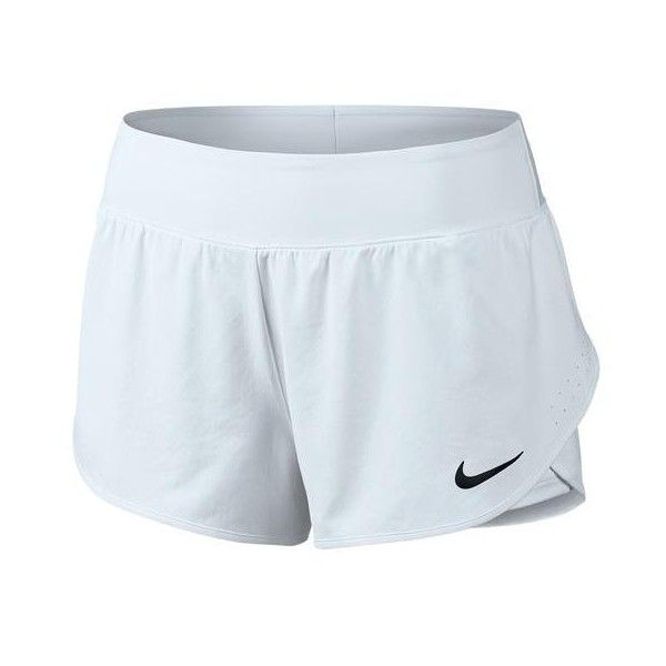 The Nike Womens Ace Tennis Short has everything you need to train like your favorite tennis champs! Dri-FIT fabrication is included to help wick away pesky sweat while the mesh waistband is provided for breathability. Other features include: 2-way spandex, stylish design and comfortable fit.