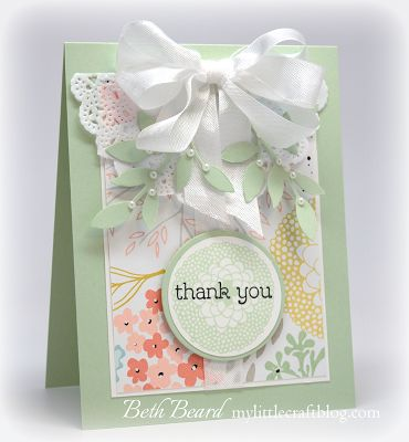 Stampin' Up! Card by. Beth B at My little craft blog: Pals Occasions and Sale-a-bration Blog Hop