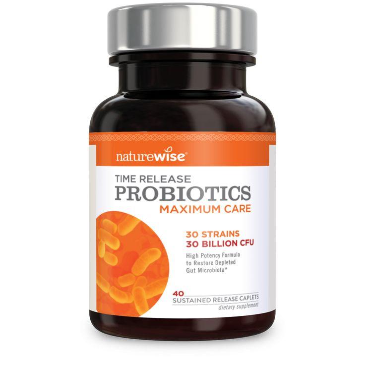 Maximum Care Time-Release Probiotics for Men & Women