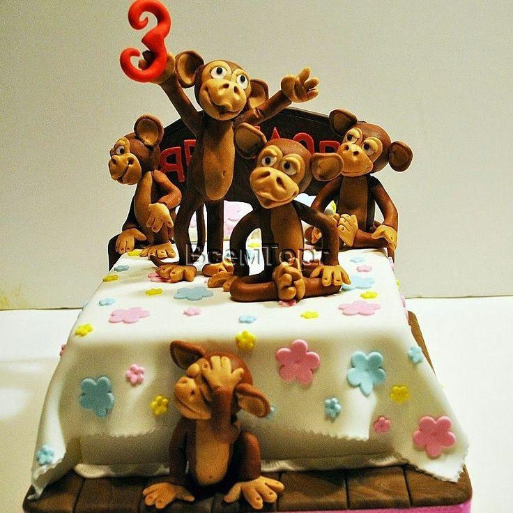цифру разделите торт с обезьянкой фото является