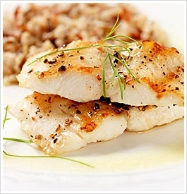 Easy Tilapia Recipe - i added salt and substituted garlic powder for the garlic. Added a bit of lime juice.