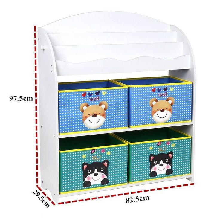Spielzeugbox Spielzeugregal Kinderregal Bücherregal Ablage Kinder Aufbewahrung in Möbel & Wohnen, Kindermöbel & Wohnen, Möbel | eBay!
