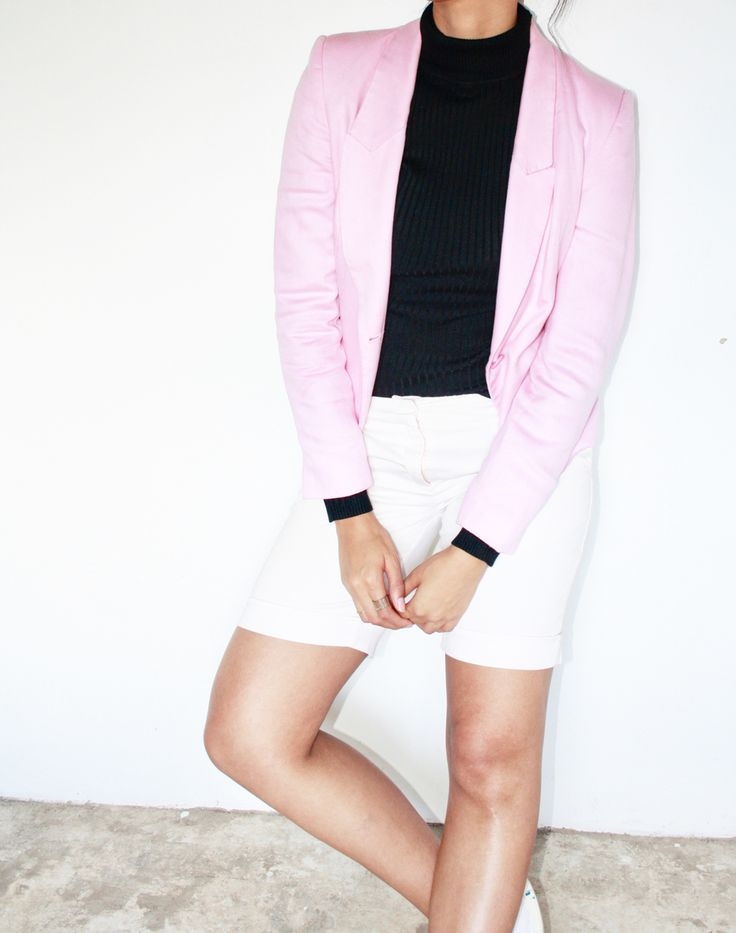 Millennial Pink Outfit Fashion