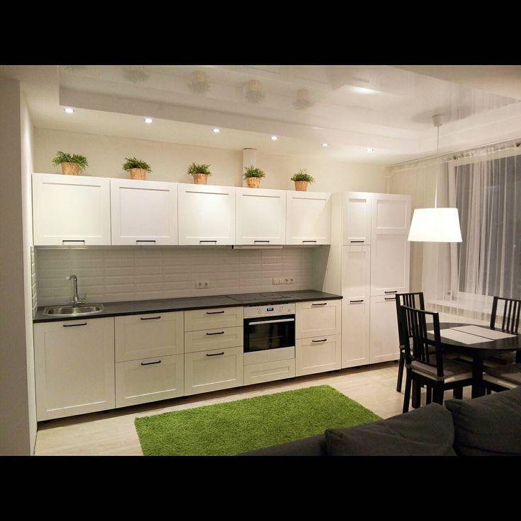 2,486 отметок «Нравится», 92 комментариев — ВДОХНОВЕНИЕ IKEA ДЛЯ ВАС🏠 (@ikea_inst) в Instagram: «Кухня от @julianeklepaeva 🌱 #ikea #ikearussia #IKEA #Iloveikea #ИКЕА #икеароссия#friday #homedesign…»