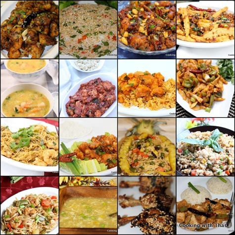 Indo-Chinese Recipes- A collection of Easy Indo-Chinese dishes
