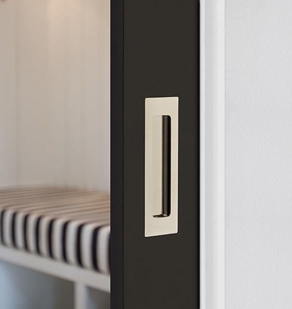 Modern Rectangular Flush Pulls From Emtek For Sliding And Barn Doors Or To Be Used As Drawer Pulls In A Interior Barn Doors Modern Sliding Barn Door Barn Door