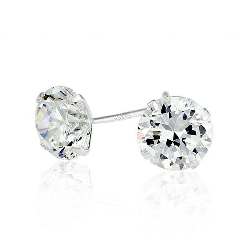 Crown Stefana Store - Brilliant Crystal Silver Stud Earrings, €8.00 (http://www.crownstefana.com/brilliant-crystal-silver-stud-earrings/)