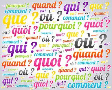 Ne s'égare pas celui qui pose des questions... Apprenez donc à bien formuler vos questions pour ne pas perdre le chemin du perfectionnement de la langue française.