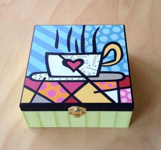 Caja Britto Taza por Angélica Tamayo