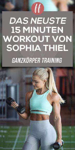 Das Sophia Thiel Training ist schon immer effektiv und vielseitig gewesen. Mit d… – Sabrina Melisch