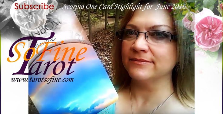 Water Sign Scorpio June 2016 One Card Highlight (Earth Magic Oracle Cards) with Tarot So Fine  #watersign #scorpio #june2016 #tarotreading #oracle #astrology