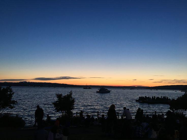 Sunset Seattle usa