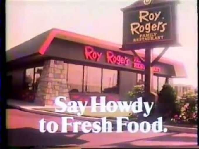 Roy rogers restaurants essay