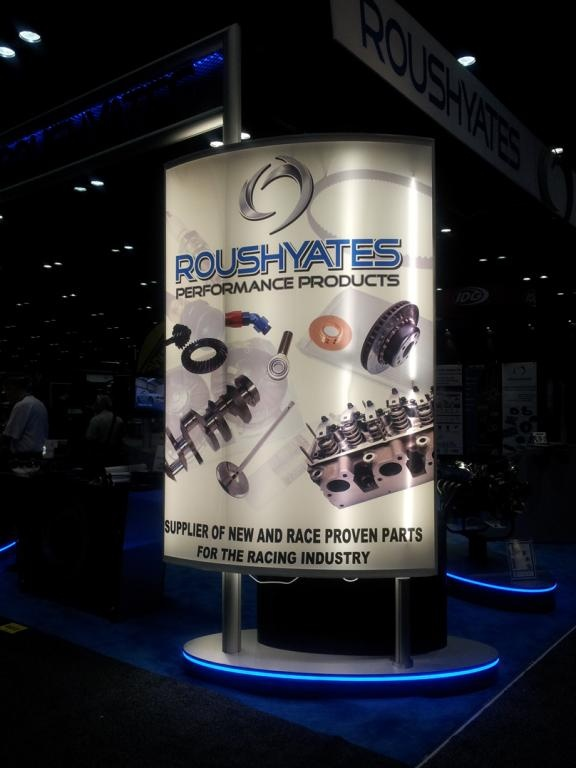 ROUSHYATES products were on display at the 2012 PRI.