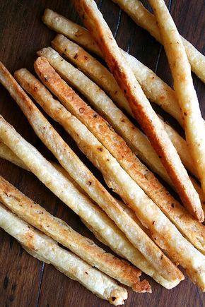 Palitos de queso crujientes - IMujer