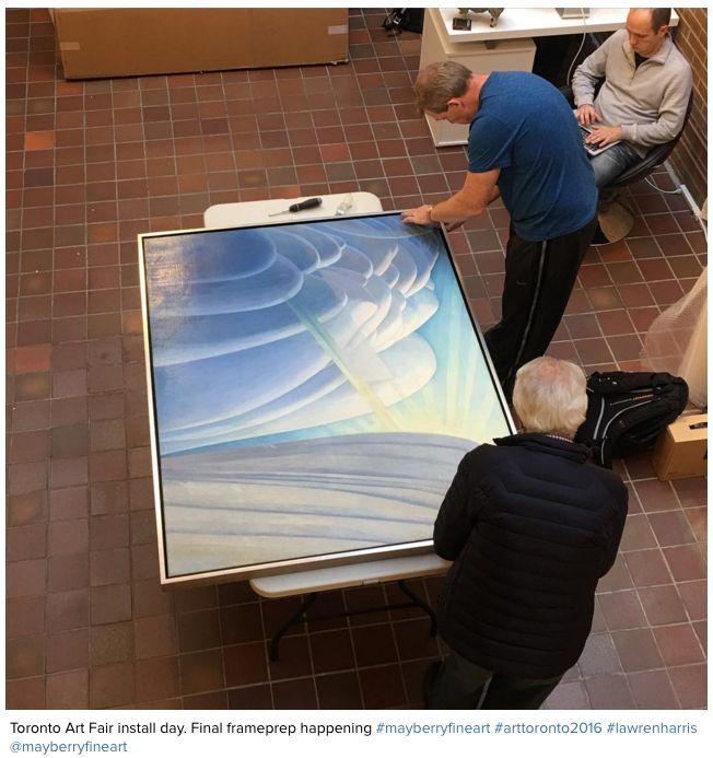 ART TORONTO SALES REPORT