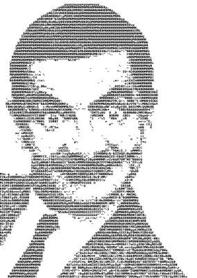 Mr Bean - ASCII Art