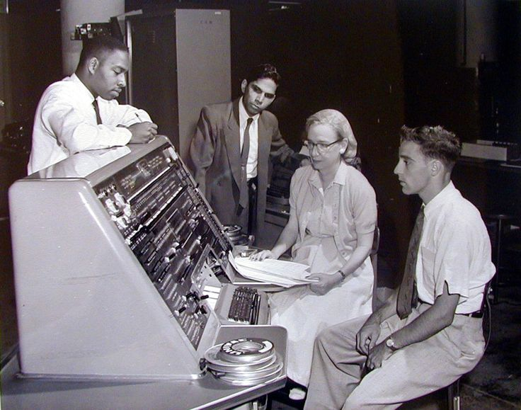 """Top Things #Women #Invented.  Grace Hopper: BM-Harvard Mark 1. Admiral Dr. Grace Murray Hopper is known as the """"mother of computers""""!"""